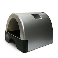 <strong>Kittyagogo</strong> Designer Cat Litter Box with Metallic Cover