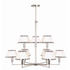Hampstead 9 Light Chandelier