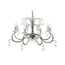 Lunetta 8 Light Crystal Chandelier