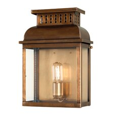 Westminster 1 Light Outdoor Wall Flush Light