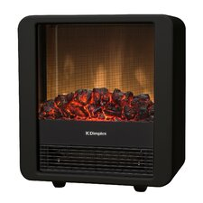 Cube Electric Fire in Black