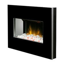 Clova Wall Mounted Electric Fire in Black