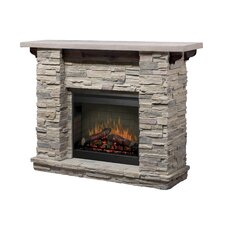 Featherstone Mantel with LED Firebox