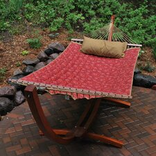 12' Arc Stand and Fabric Hammock with Pillow