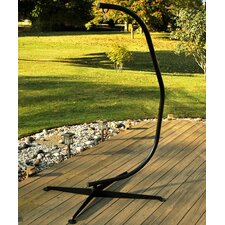 <strong>Algoma Net Company</strong> C-Frame Hanging Chair Stand in Bronze