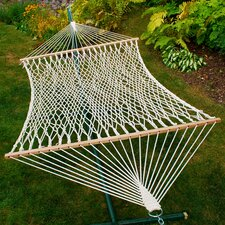 <strong>Algoma Net Company</strong> Chambers Island 2-Point Cotton Rope Single Hammock