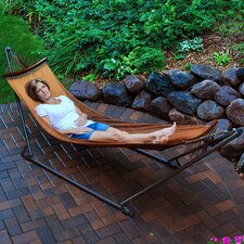 <strong>Algoma Net Company</strong> EZ-Cozy Portable Hammock with Stand