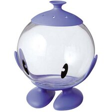 Bubble Multi Purpose Glass Container in Bright Blue