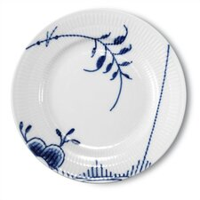 "Blue Fluted Mega 6.75"" Bread and Butter Plate"