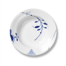 "Blue Fluted Mega 8.25"" Soup Plate"
