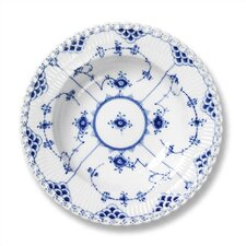 "Blue Fluted Full Lace 9"" Accent Plate"