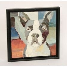 Boston Terrier Original Oil Painting