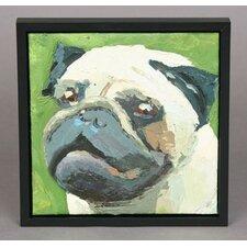 Pug Original Oil Painting