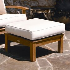 <strong>Three Birds Casual</strong> Monterey Ottoman with Cushion