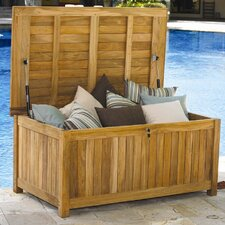 Le Spa Cushion and Teak Storage Box