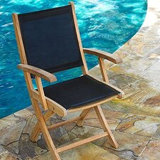 <strong>Three Birds Casual</strong> Riviera Folding Dining Armchair