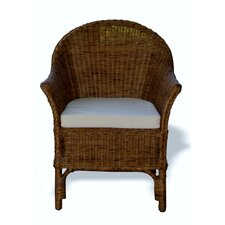 Classic Wicker Arm Chair