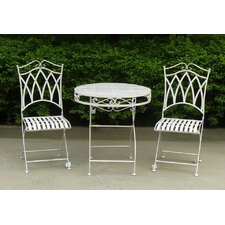 Albany Wrought Iron Three Piece Set
