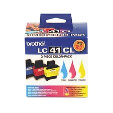 <strong>Brother</strong> Lc413Pks Ink, 400 Page-Yield, 3/Pack