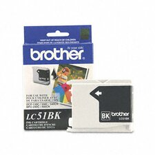 <strong>Brother</strong> Lc51Bk Innobella Ink, 500 Page-Yield
