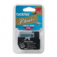 <strong>Brother</strong> P-Touch M Series Tape Cartridge for P-Touch Labelers, 3/8W