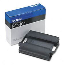 PC101 Fax Thermal Print Ribbon Cartridge, Black