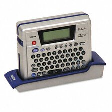 P-Touch Pt-18R Pc-Ready Rechargeable Labeler