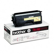 Tn560 High-Yield Toner, 6500 Page-Yield