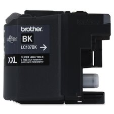 LC107BK Ink Cartridge, 1200 Yield, Black