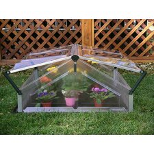 Double Polycarbonate Cold Frame Greenhouse
