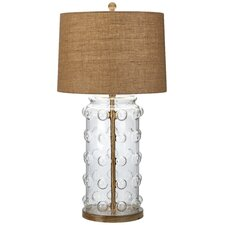 Big Bubbles Clear Table Lamp