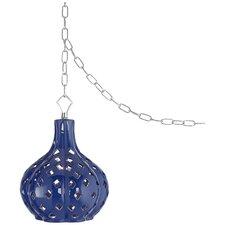 Mercata Swag 1 Light Globe Pendant