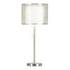 PCL Urban Mystique 28'' H Table Lamp with Drum Shade