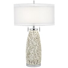 "PCL Glen 32"" H Table Lamp with Drum Shade"