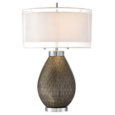 """PCL Walston 29.37"""" H Table Lamp with Drum Shade"""
