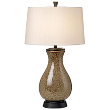 "Princeton Mystic Glaze 31.75"" H Table Lamp with Empire Shade"
