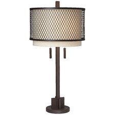 <strong>Pacific Coast Lighting</strong> Mesh Table Lamp