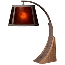 "PCL River Arc 30"" H Table Lamp with Rectangular Shade"