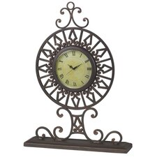 Montecito Clock in Bronze Tiger