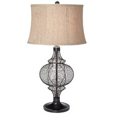 """PCL Victorian 32"""" H Table Lamp with Drum Shade"""