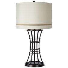 "PCL Column 31"" H Table Lamp with Drum Shade"