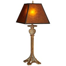 """PCL Jaspar Range 35"""" H Table Lamp with Square Shade"""