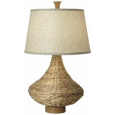 """Seagrass Bay 32"""" H Table Lamp with Empire Shade"""