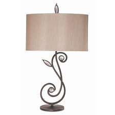 Kathy Ireland Essentials Garden Symphony Table Lamp