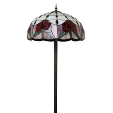 Sunshine Roses Tiffany Floor Lamp