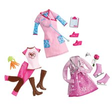 <strong>Mattel</strong> Barbie I Can Be Fashion Doll with Assorted Outfits