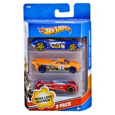 Hot Wheels Assorted Racing Vehicle Set