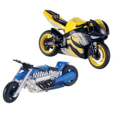 Hot Wheels Street Power Vehicle X Blade Light Frame Motorcycles