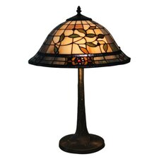 54cm Floral Table Lamp