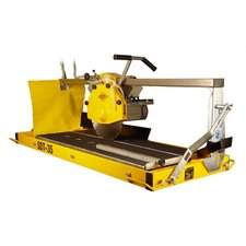 "2.5 HP 115 V 12"" Blade Capacity Stone Saw with 34"" Rip Cutting"